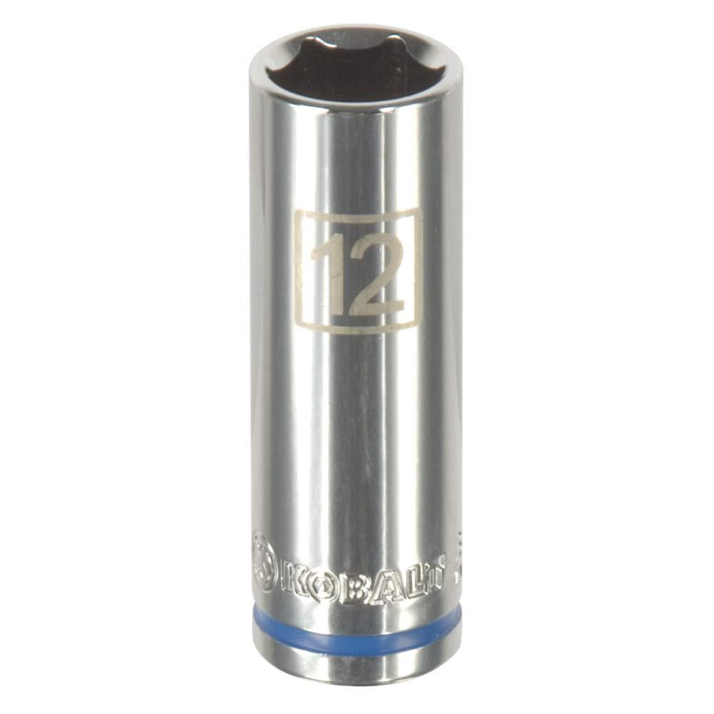 Kobalt Metric 1//4-in Drive 6-Point 12mm Socket