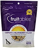 Fruitables 953024 8-Pack Countables Dog Treats Pumpkin And Blueberry, 7-Ounce