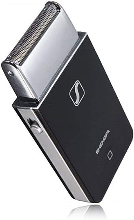 Shengfa - Afeitadora eléctrica de bolsillo, recargable, estilo ...