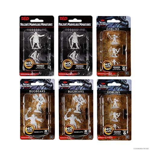 WizKids D&D Nolzur'S Marvelous Minis: Goblinoid Raiders Bundle