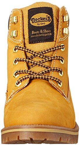 Dockers by Gerli 35aa203-300910, Botines para Mujer Amarillo (Golden Tan)
