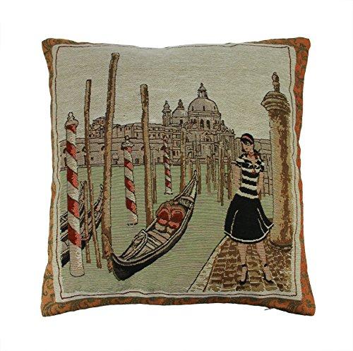 FakeFace Jacquard Decorative Pillowcases Slipcover