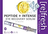 Peptide Serum Eye-Gel for Puffiness and Dark-Circles Under-Eyes - All Natural Formula to Reduce Wrinkle, Bags and Fine Lines in The Face by Refresh Skin Therapy