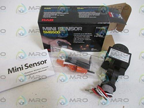 RAB Lighting SMS500 Mini Sensor, 180 Degrees Detection Pattern, 500W Power, 120V, Bronze Color