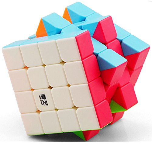 CuberSpeed QiYi Qiyuan S 4x4 Stickerless Bright Magic cube MoFangGe MFG Qiyuan S color 4X4X4 Speed cube