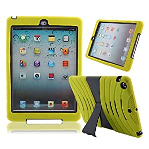 2-in-1 Stylish shield Case with Stand for iPad Air Light Green