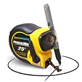 PENCILMAN Marking Tape Measure - Holds any pencil or marker to 5/8' diameter - Arcs and Circles, Single handed marking, Edge slide marking, End to End marking, Transfer measurements, and more. -