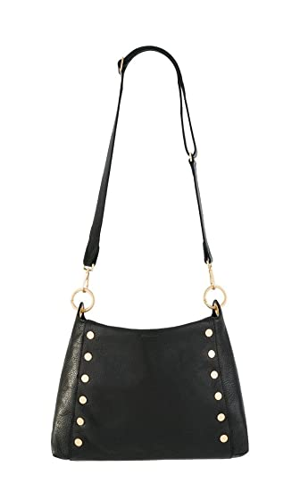 Hammitt Women s Bryant Black Brushed Gold One Size  Handbags  Amazon.com f54283f23abf4