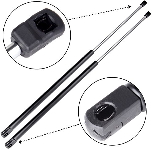 Struts,ECCPP Front Hood Lift Supports Struts Gas Springs for 2007 2008 2009 2010 2011 Toyota Camry Set of 2