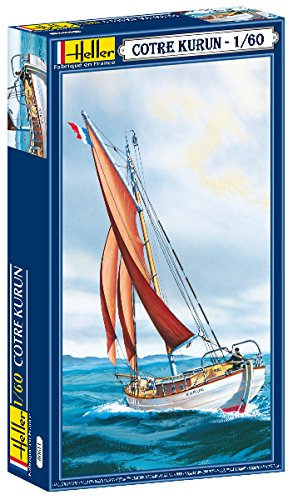 Heller Cotre Kurun Single Masted Sailing Yacht (1/60 Scale) from Heller