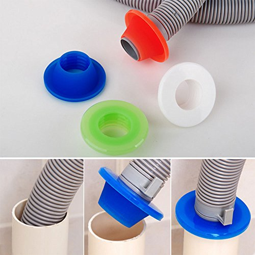 Daycount 5 Pcs Pipeline Deodorant Silicone Ring Washer Tank Sewer Drain Seal Plug Pest Control (Random (Pest Control Accessories)