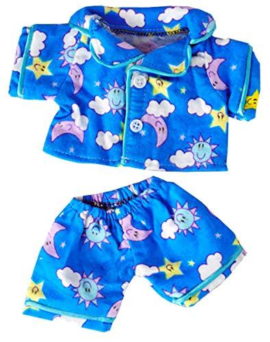 Sunny Days Blue Pj's Fits Most 8