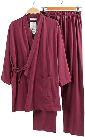 Juego de pijamas y albornoces Kimono Robe and Pant para ...