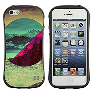 High quality Case for Apple iPhone 5 5S / Landscapes Art