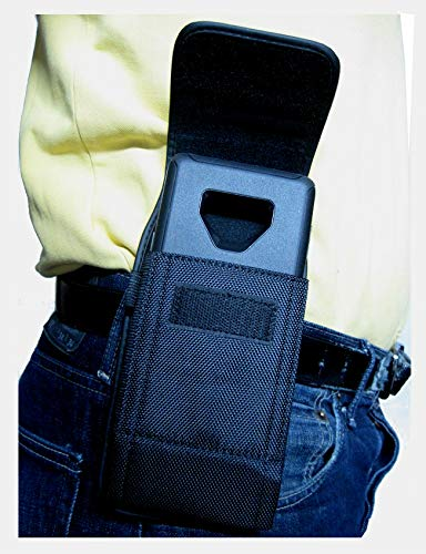 Mgbca Nylon, Galaxy Note 9 / Note 8 Cell Phone Pouch Belt Clip, Holster with Belt Loop Clip, Big and Secure,Compatible…
