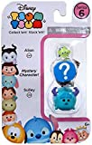 Disney Tsum Tsum Series 6! 3-Pack Figures: Alien/Mystery/Sulley