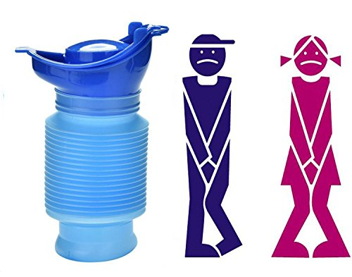 ToBe-U Emergency Reusable Urinal Portable Shrinkable Pers...