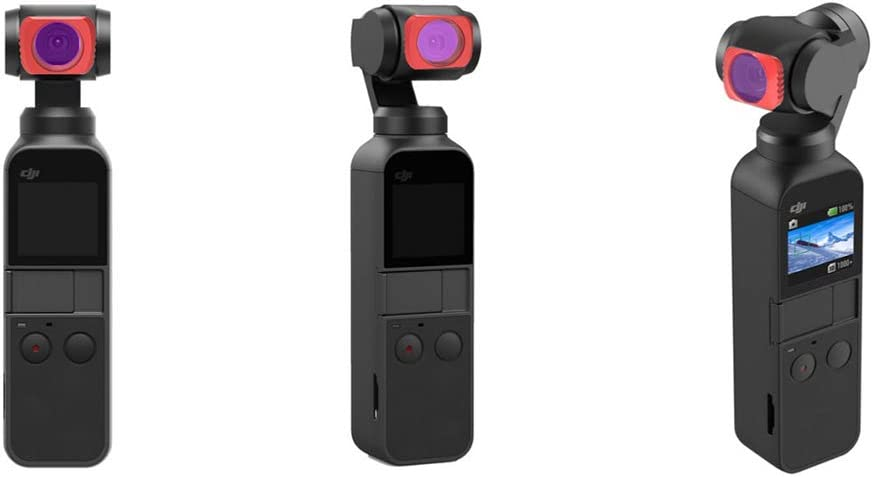 OUYAWEI Funny for JSR UV//STAR//CPL//ND4//8//16//32//64 Lens Filter Accessories for DJI Osmo Pocket 5 Pieces UV//CPL//ND8//ND16//ND32