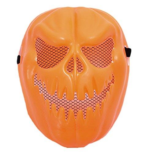 Atickbase Jack-O-Lantern Skull Halloween toys tricky children cartoon (Jack O Lantern Mask)