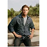 Jericho 8x10 Photo Brad Beyer Blue Jean Shirt Over Tee Hands on Hips kn