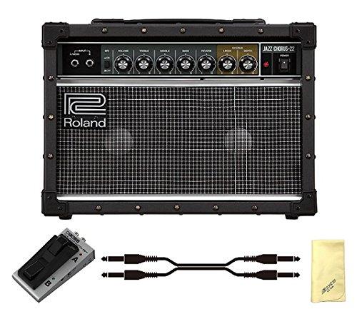 【愛曲クロス付】【フットスイッチ/FS-7+接続ケーブル付】Roland ローランド JC-22 Jazz Chorus Guitar Amplifier ジャズコーラス ギターアンプ   B01M5IVCSR