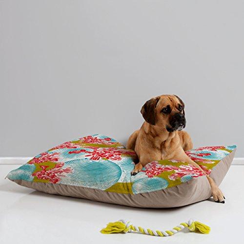Deny Designs Caroline Okun Betacyan Pet Bed, 40 by 30-Inch by DENY Designs