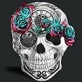 MUILOO Diy Diamond Painting Diamond Skull Head Rose 5D Cross Stitch Crystal Dill Full Diy Diamond Embroidery Resin Home Decorati