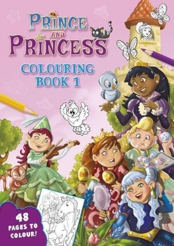 Download Prince and Princess: Colouring Book No.1 pdf