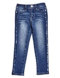 Guess Factory Lily Sequin-Trim Jeans (2-6)