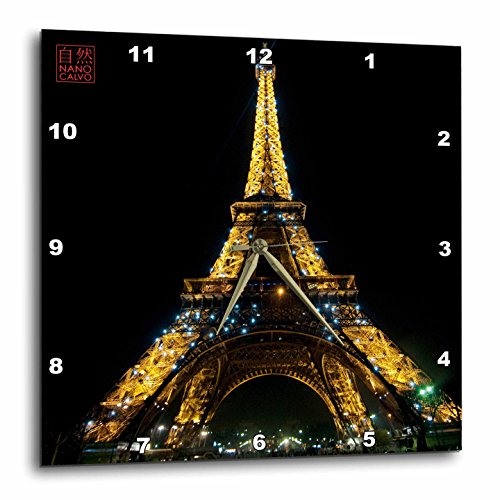 3dRose dpp 107793 3 Monument Illuminated Paris Wall