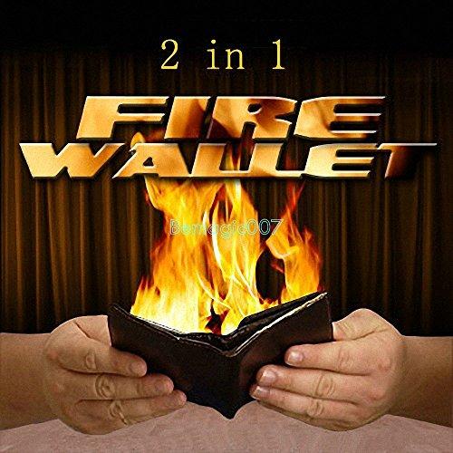 2 in 1 Fire Wallet Fire Wallet Style A - Fire Magic Tricks