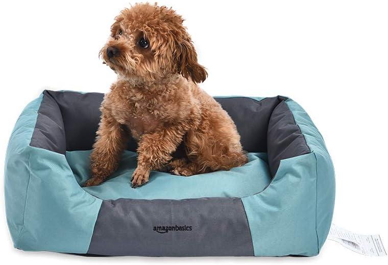 Rectangular Basics Water-Resistant Pet Bed