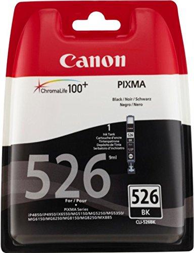 Canon CLI-526 Cartucho de tinta original Negro para Impresora de ...