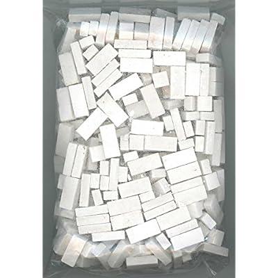 Dollhouse Miniature 325 Piece White Brick: Toys & Games