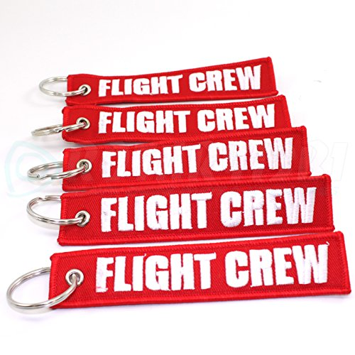 Rotary13B1 Flight Crew - Red/White - 5pcs Keychains