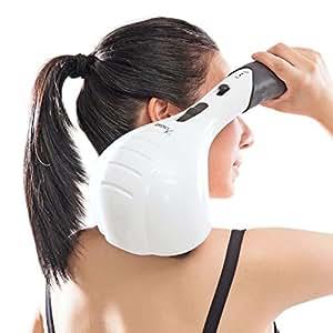 VIKTOR JURGEN Double Head Electric Full Body Massager for Head, Neck, Shoulder, Back, Leg and Foot -Handheld Percussion Massage