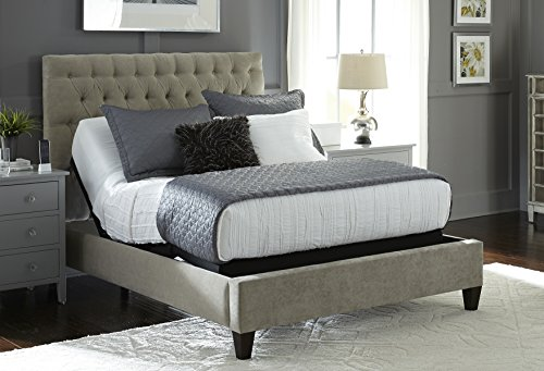 2018 S-Cape 2.0 Split King + 12″ Luxury Cool Gel Memory Foam Mattress by Nature's Sleep Adjustable Bed Base (12″ Medium Gel Memory Foam 2 Twin XL) Review