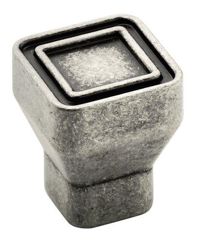 Amerock BP53025AP Polara Square Knob, Aged ()