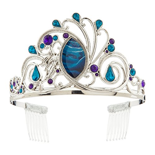 Disney Ariel Tiara for Kids - The Little Mermaid Silver ()
