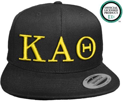JTshirt.com-19602-KAPPA ALPHA THETA Flat Brim Snapback Hat Yellow Letters / KAT | Theta | Sorority Cap-B00EVF871Y-T Shirt Design