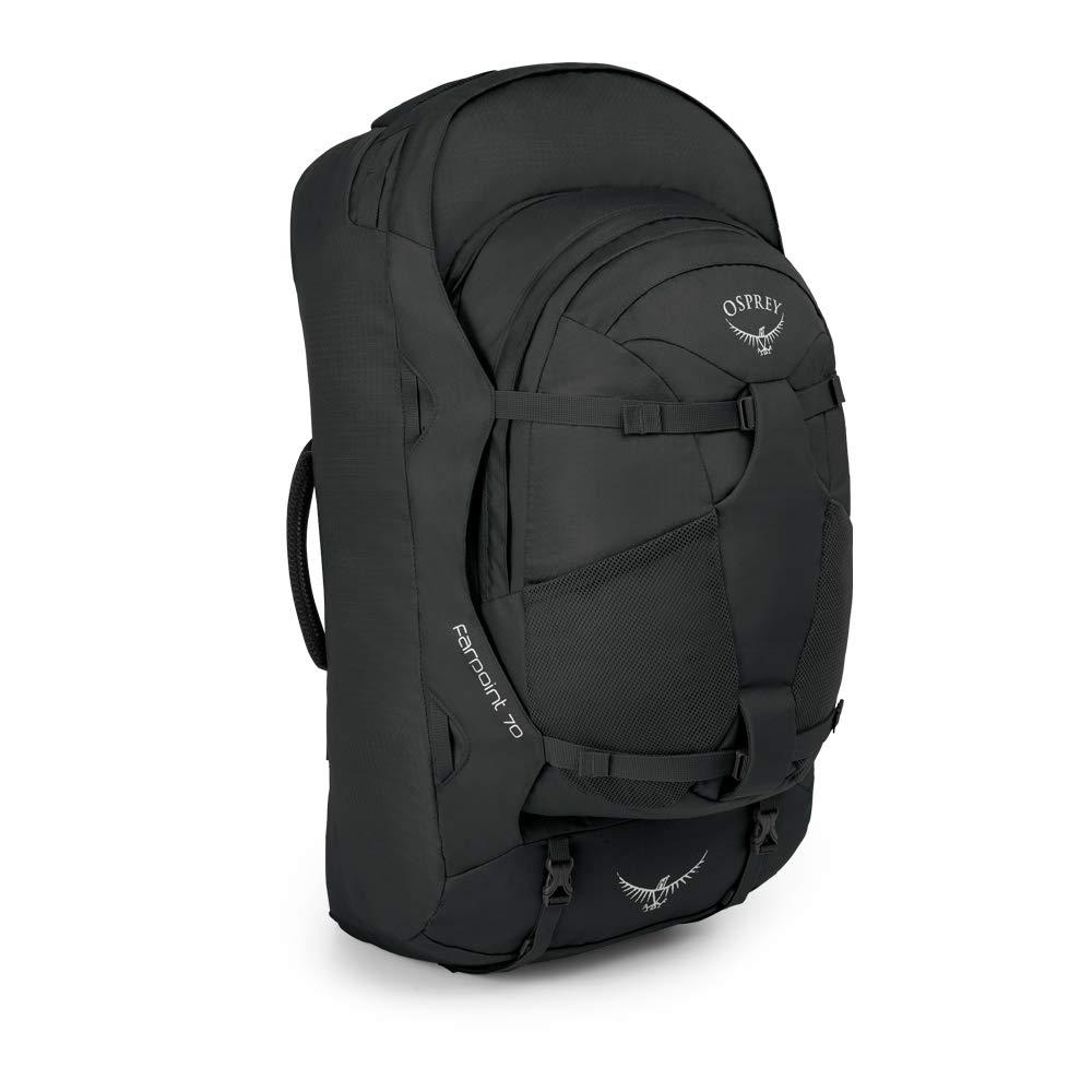 Osprey Packs Farpoint 70 Pack – 4089 – 4272 cu in B014EBKGOU ブラック S/M S/M ブラック