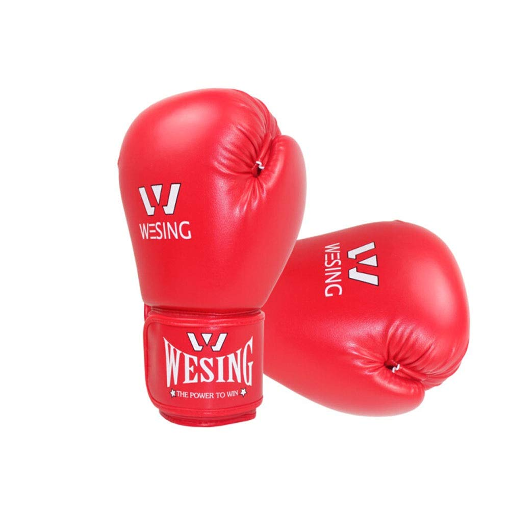 Children's Boxing Gloves, Children's Sanda Taekwondo Professional Boxing Gloves, Youth Sandbag Gloves, (6-15 Years Old) (Color : Red) by Guyuexuan (Image #3)