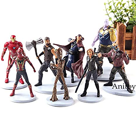 Design; In Symbol Of The Brand Avengers Infinity War Doctor Strange Action Figure Collection Model Toys 12cm Novel