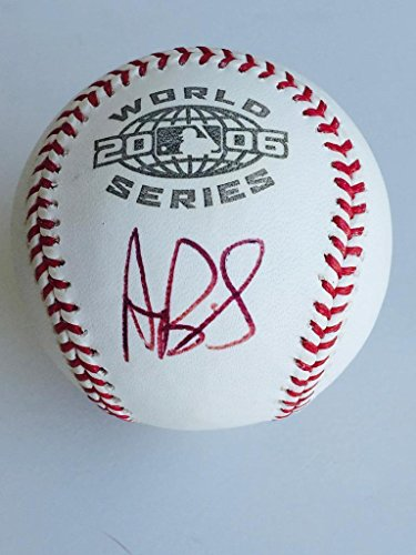 Signed Albert Pujols Ball - 2006 World Series X25488 - JSA Certified - Autographed (Mlb 2006 World Series Baseball)