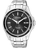 Citizen - BM6920-51E - Montre Homme - Quartz Analogique - Cadran - Bracelet Titane Argent