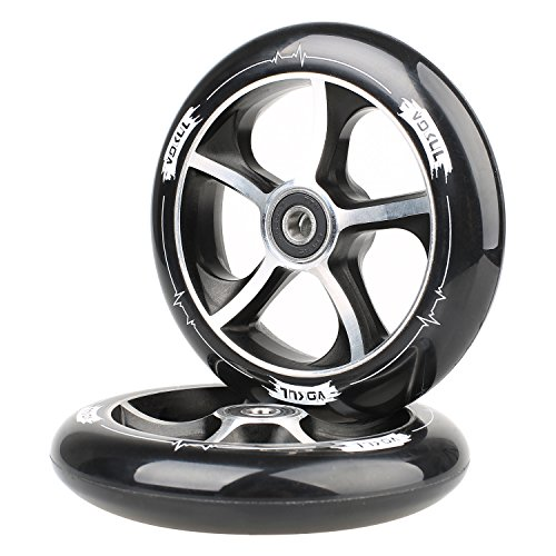 VOKUL 120mm Pro Kick Stunt Scooter Forged Wheels with ABEC-7 Bearing, 2pcs