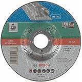 Bosch 2609256311 Disque à tronçonner à moyeu déporté pour Métaux Diamètre 125 mm Diamètre d'alésage 22/23 Epaisseur 2,5 mm