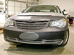 Lebra 2 piece Front End Cover Black - Car Mask Bra - Fits - CHRYSLER,SEBRING,2007 thru 2010