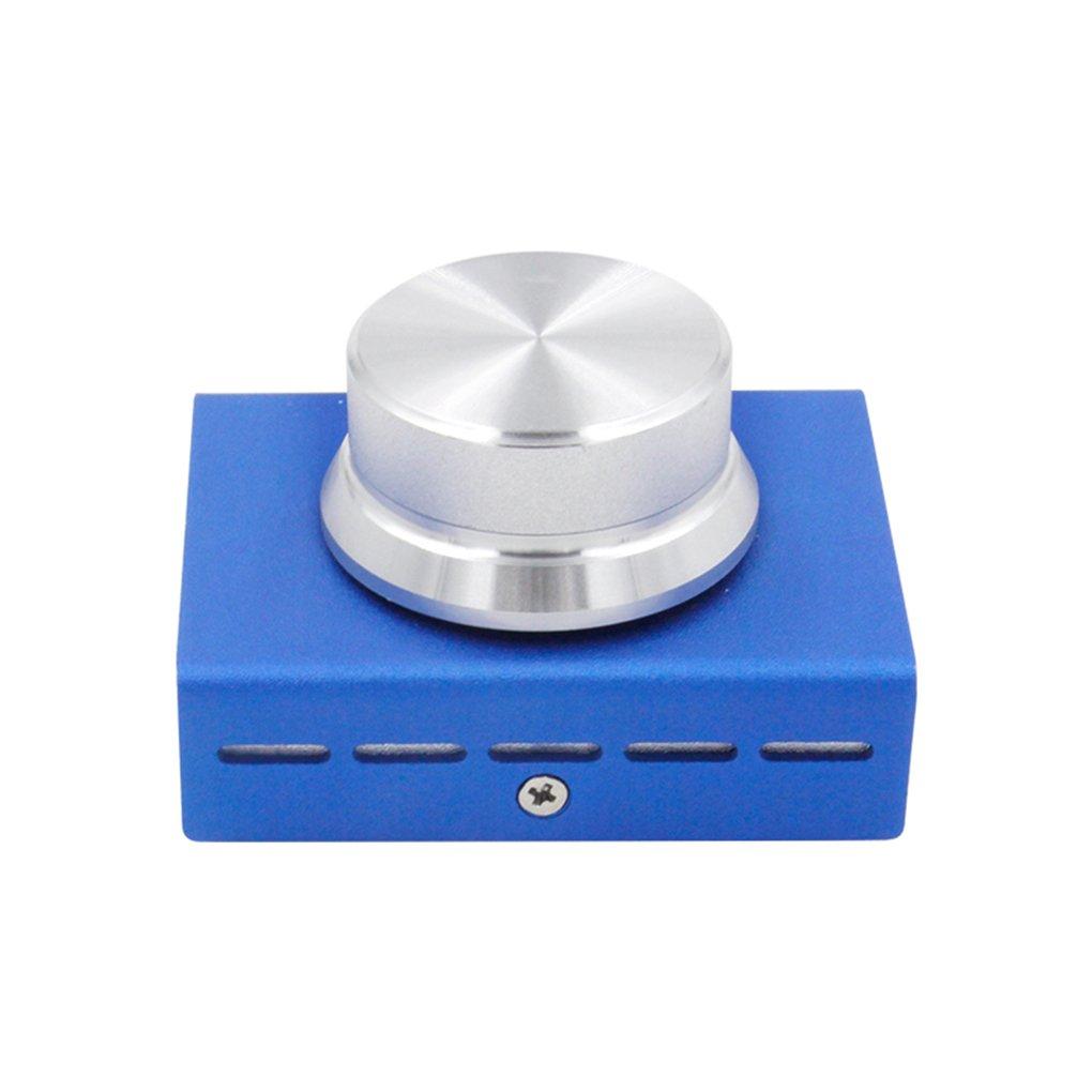 Xuanhemen USB Volume Control Knob Metal Audio Volume Controller with One Key Function for Win10/8/7/Vista/XP/Mac
