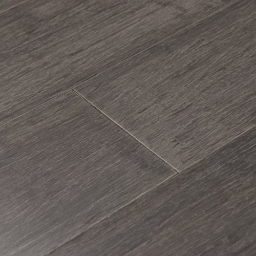Cali Bamboo - Solid Wide Click Bamboo Flooring, Eclipse Gray - Sample